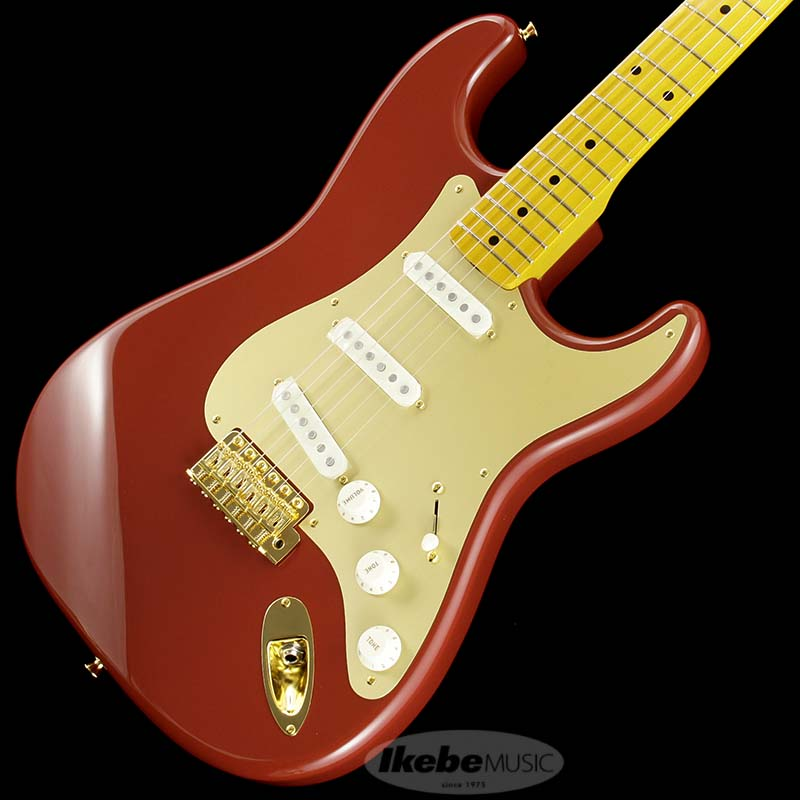 Fender Made in Japan Traditional 《フェンダー》 Traditional 50s Stratocaster Anodized (Dakota Red) [Made in Japan]【g_p5】