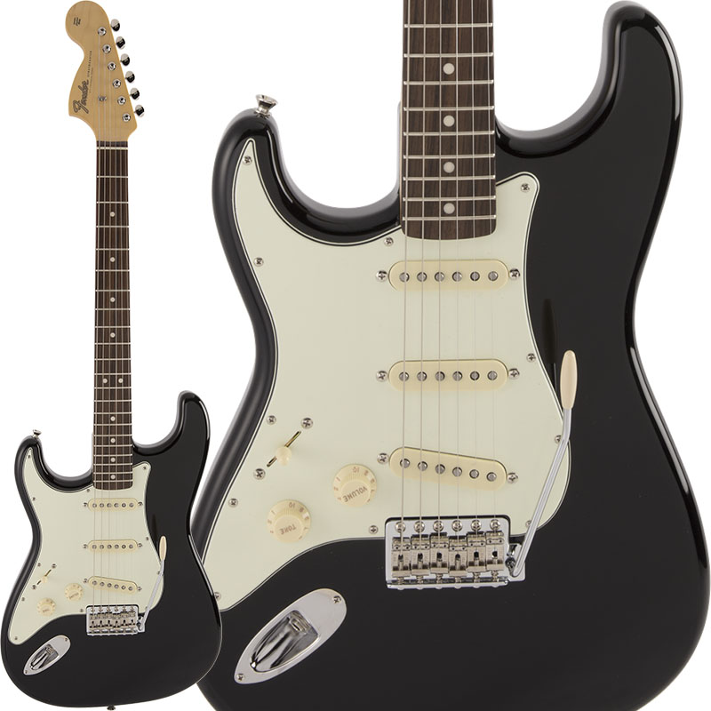 Fender《フェンダー》 Made in Japan Limited Edition Stratocaster Seattle (Black/Rosewood) [フェンダー×ギター・マガジン コラボレーションモデル第3弾モデル] 【g_p5】