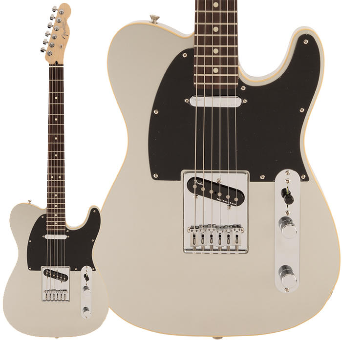 Fender《フェンダー》 Made in Japan Modern Telecaster (Inca Silver/Rosewood Fingerboard) 【数量限定!ギターアンプ VOX Pathfinder10プレゼント!!】【g_p5】