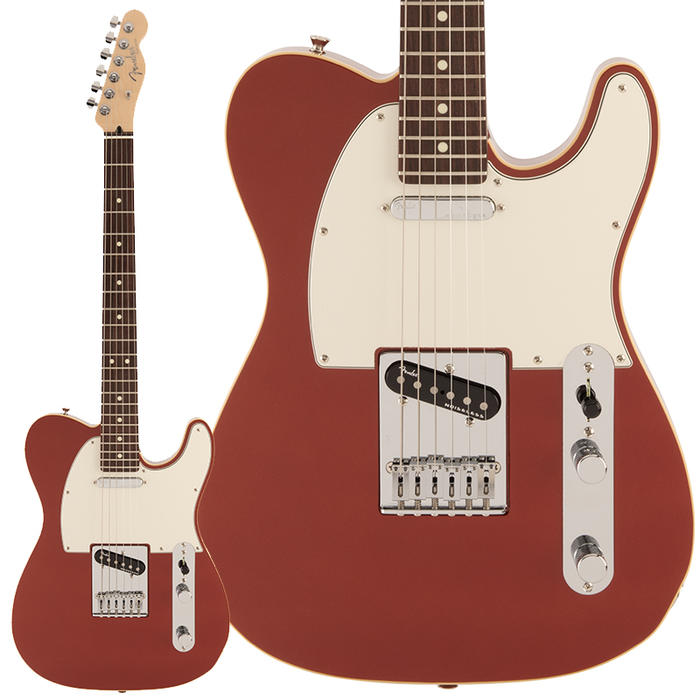 Fender《フェンダー》 Made in Japan Modern Telecaster (Sunset Orange Metallic/Rosewood Fingerboard) 【数量限定!ギターアンプ VOX Pathfinder10プレゼント!!】【g_p5】