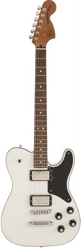Fender《フェンダー》 Made in Japan Troublemaker Telecaster (Arctic White)【数量限定!ギターアンプ VOX Pathfinder10プレゼント!!】【g_p5】