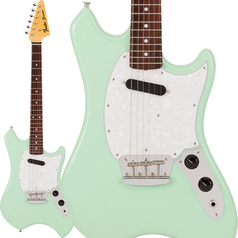 "Fender《フェンダー》 Limited Swinger (Surf Green)【g_p5】【数量限定""Pathfinder 10 福袋""プレゼント!】"
