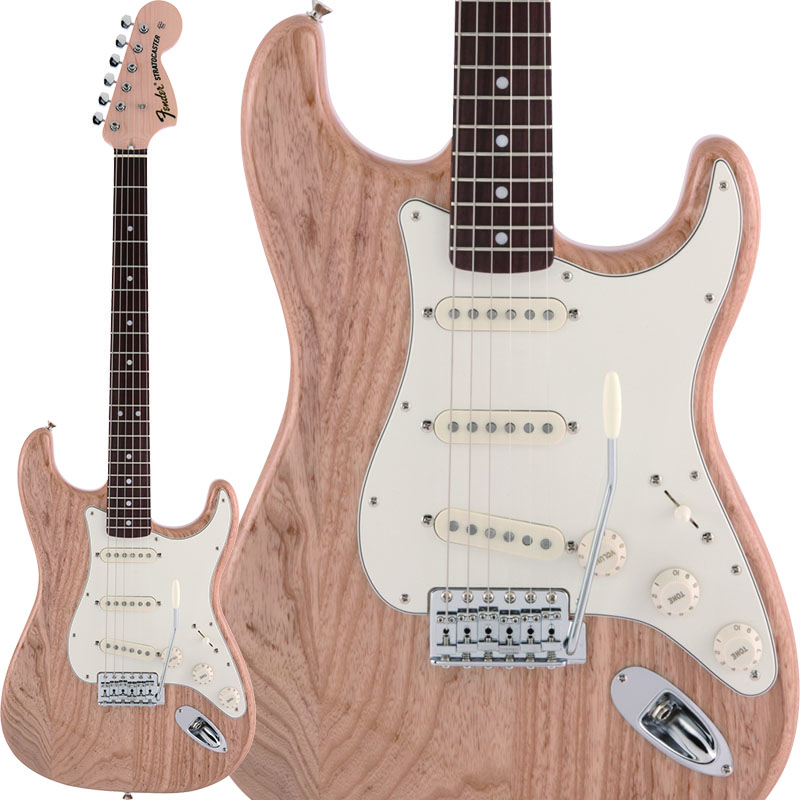 Fender《フェンダー》 Made in Japan Heritage 70s Stratocaster (Natural)【数量限定!ギターアンプ VOX Pathfinder10プレゼント!!】【g_p5】