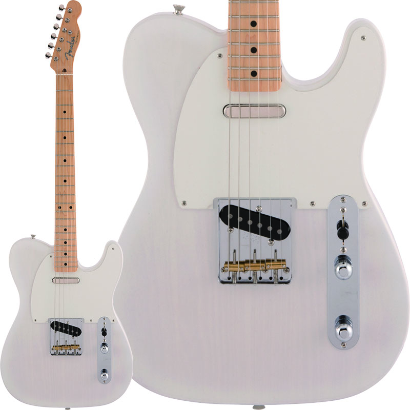 Fender《フェンダー》 Made in Japan Heritage 50s Telecaster (White Blonde)【数量限定!ギターアンプ VOX Pathfinder10プレゼント!!】【g_p5】