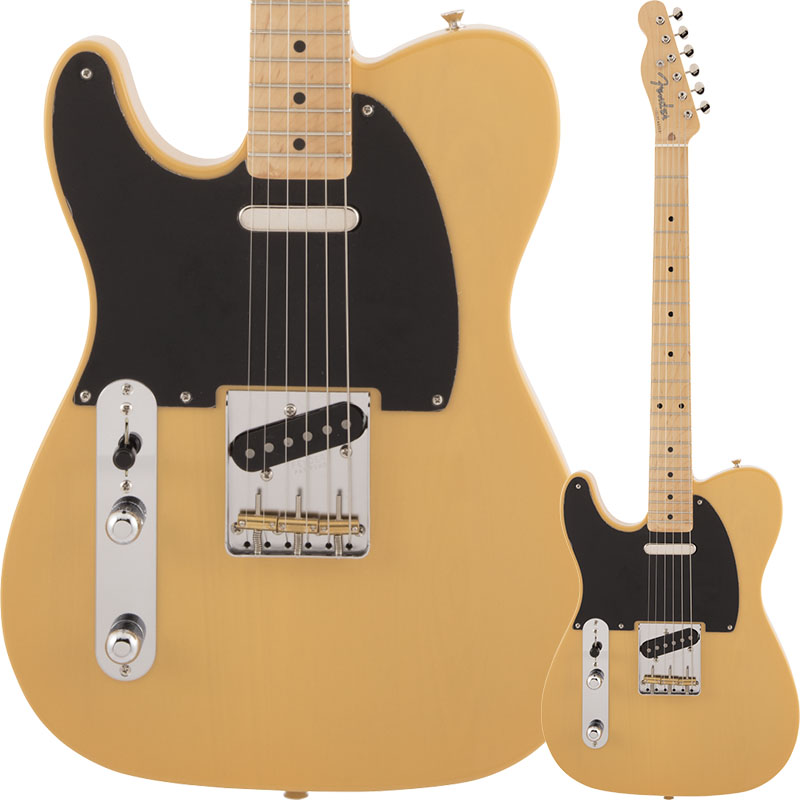 Fender Made in Japan 《フェンダー》 Traditional 50s Telecaster Left-Handed (Butterscotch Blonde)【数量限定!ギターアンプ VOX Pathfinder10プレゼント!!】【g_p5】