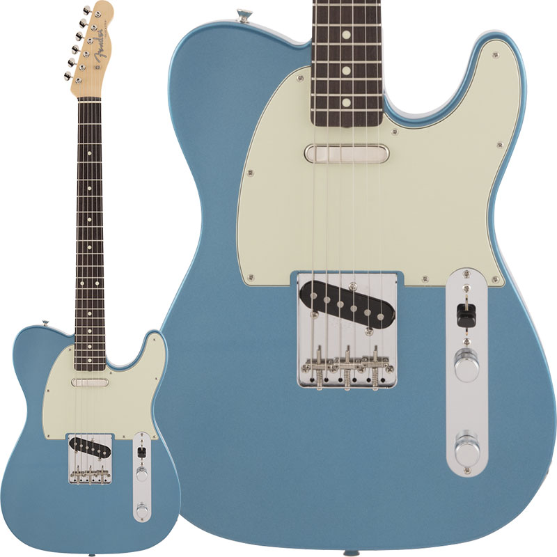 Fender Made in Japan 《フェンダー》 Traditional 60s Telecaster (Lake Placid Blue) 【数量限定!ギターアンプ VOX Pathfinder10プレゼント!!】【g_p5】