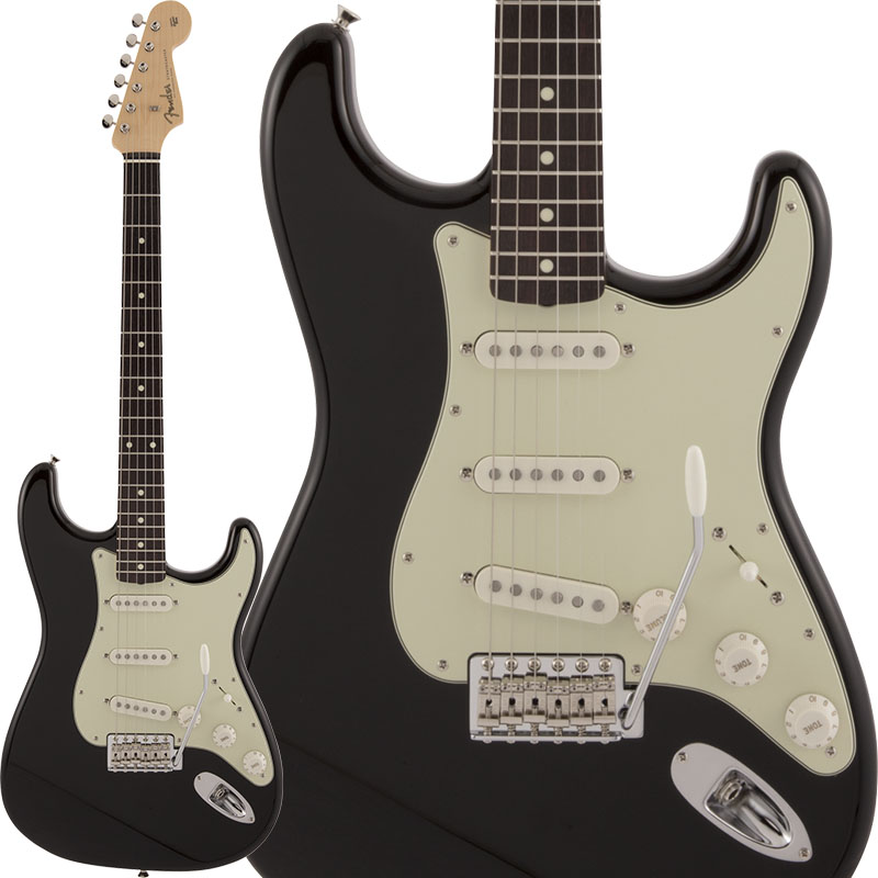 Fender Made in Japan《フェンダー》 Traditional 60s Stratocaster (Black) 【数量限定!ギターアンプ VOX Pathfinder10プレゼント!!】【g_p5】