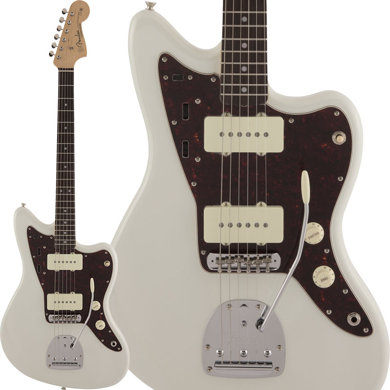 Fender Made in Japan《フェンダー》 Traditional 60s Jazzmaster (Olympic White)【数量限定!ギターアンプ VOX Pathfinder10プレゼント!!】 【g_p5】