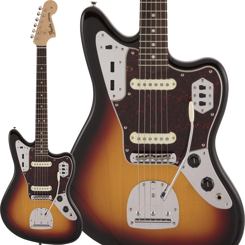Fender Made in Japan《フェンダー》 Traditional 60s Jaguar (3-Color Sunburst)【数量限定!ギターアンプ VOX Pathfinder10プレゼント!!】 【g_p5】