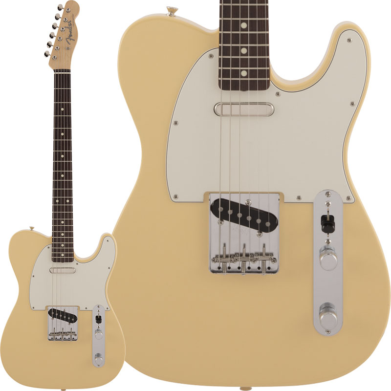 Fender Made in Japan 《フェンダー》 Traditional 60s Telecaster (Vintage White) 【数量限定!ギターアンプ VOX Pathfinder10プレゼント!!】【g_p5】