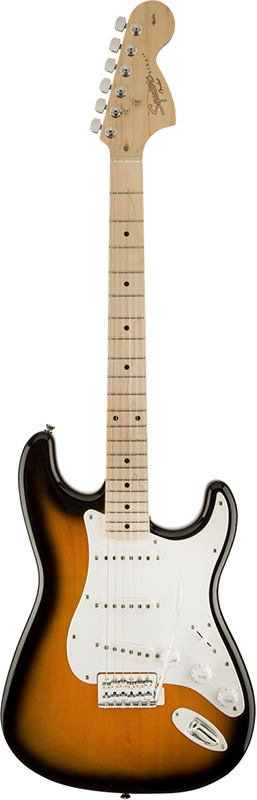 Squier by Fender 《スクワイヤーbyフェンダー》 Affinity Series Stratocaster (2-Color Sunburst/Maple Fingerboard)【g_p5】