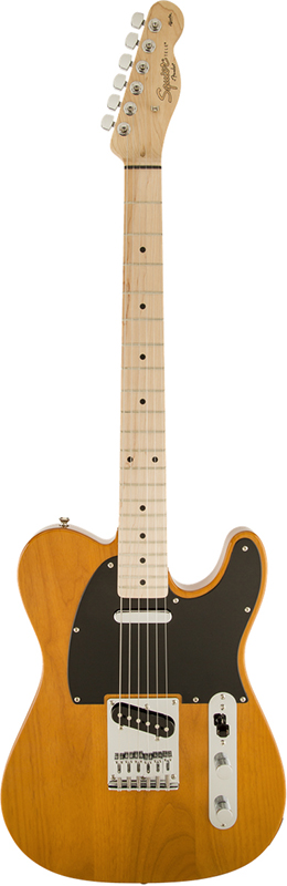 Squier by Fender 《スクワイヤーbyフェンダー》 Affinity Series Telecaster (Butterscotch Blonde/Maple Fingerboard)【g_p5】