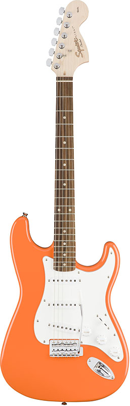 Squier by Fender 《スクワイヤーbyフェンダー》 Affinity Series Stratocaster (Competition Orange/Rosewood Fingerboard)【g_p5】