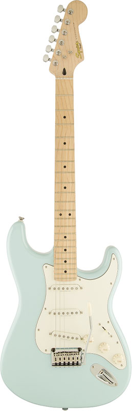 Squier by Fender 《スクワイヤーbyフェンダー》 Deluxe Stratocaster (Daphne Blue)【g_p5】