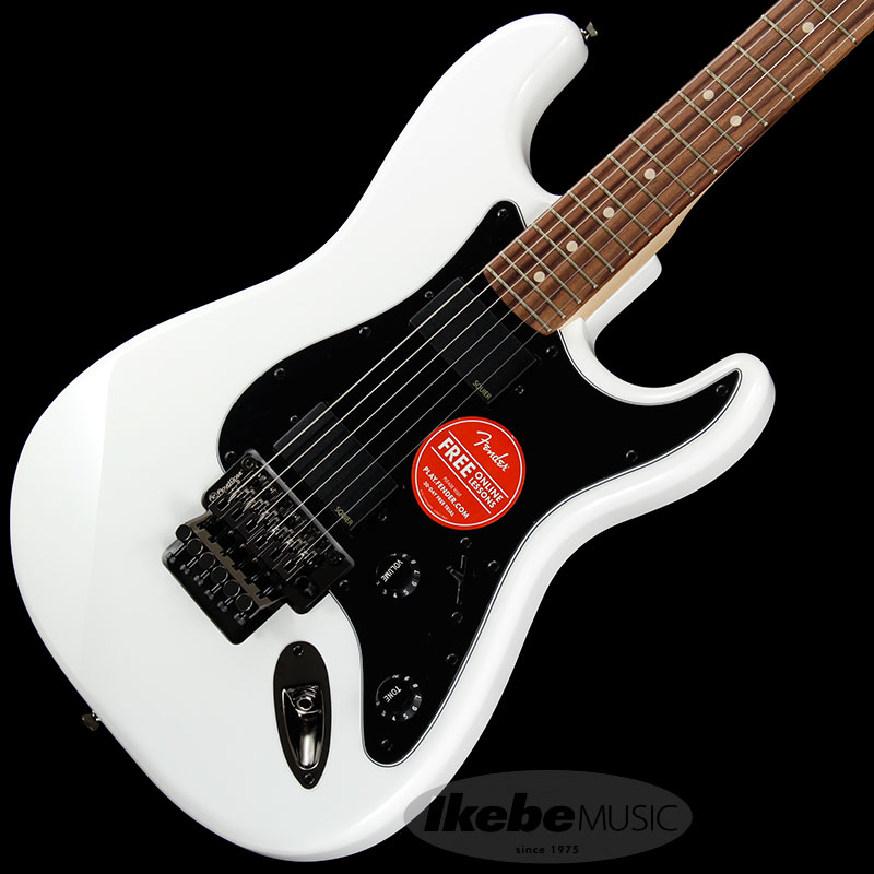Squier by Fender 《スクワイヤーbyフェンダー》 Contemporary Active Stratocaster HH (Olympic White/Rosewood Fingerboard)