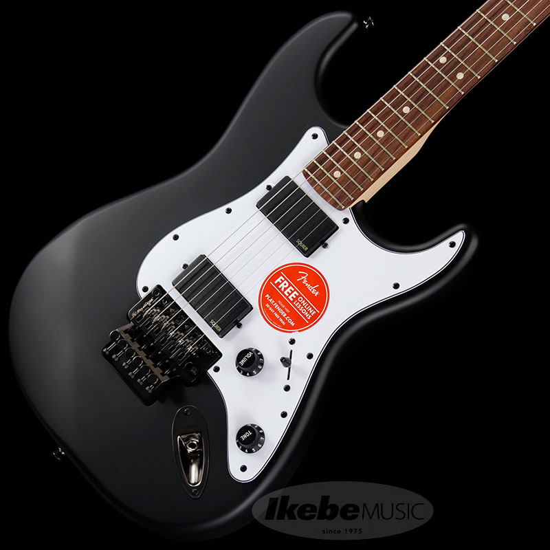 Squier by Fender 《スクワイヤーbyフェンダー》 Contemporary Active Stratocaster HH (Flat Black/Rosewood Fingerboard)