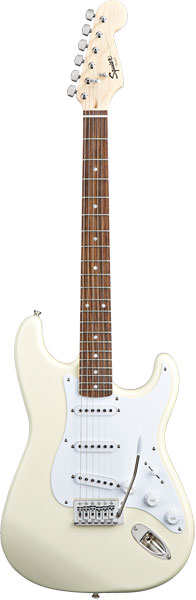 Squier by Fender 《スクワイヤーbyフェンダー》 Bullet Strat with Tremolo (Arctic White/Laurel Fingerboard)