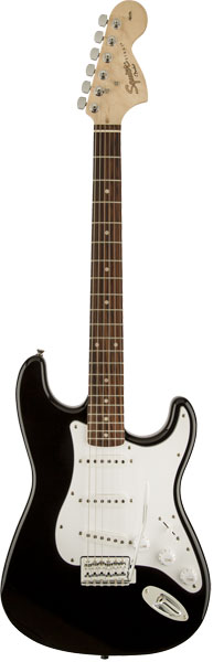 Squier by Fender 《スクワイヤーbyフェンダー》 Affinity Series Stratocaster (Black/Laurel Fingerboard)【本数限定特価】