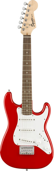 Squier by Fender 《スクワイヤーbyフェンダー》 Mini Strat (Torino Red/Laminated Hardwood Fingerboard)