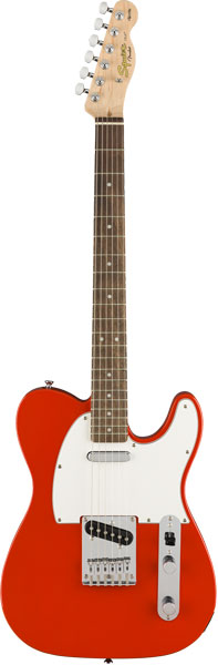 Squier by Fender 《スクワイヤーbyフェンダー》 Affinity Series Telecaster (Race Red/Laurel Fingerboard)【g_p5】