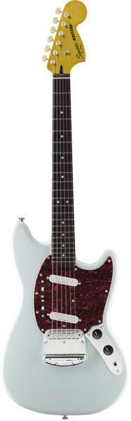 Squier by Fender 《スクワイヤーbyフェンダー》 Vintage Modified Mustang (Sonic Blue/Laurel Fingerboard)【期間限定プライス】