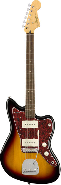 Squier by Fender 《スクワイヤーbyフェンダー》 Vintage Modified Jazzmaster (3-Color Sunburst/Laurel Fingerboard)【g_p5】