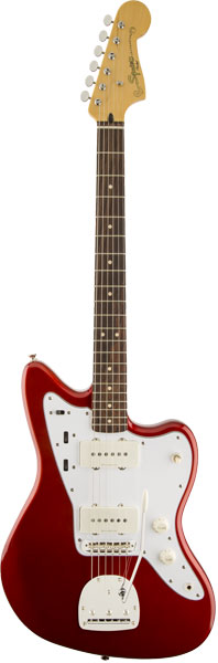 Squier by Fender 《スクワイヤーbyフェンダー》 Vintage Modified Jazzmaster (Candy Apple Red/Laurel Fingerboard)【期間限定プライス】