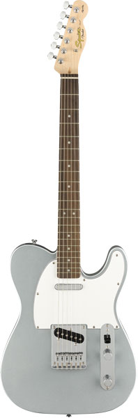 Squier by Fender 《スクワイヤーbyフェンダー》 Affinity Series Telecaster (Slick Silver/Laurel Fingerboard)【g_p5】