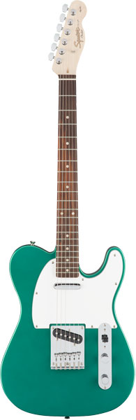 Squier by Fender by 《スクワイヤーbyフェンダー》 Affinity Series Telecaster Series (Race Fingerboard)【g_p5】 Green/Laurel Fingerboard)【g_p5】, オオシカムラ:fb4d1216 --- anaphylaxisireland.ie