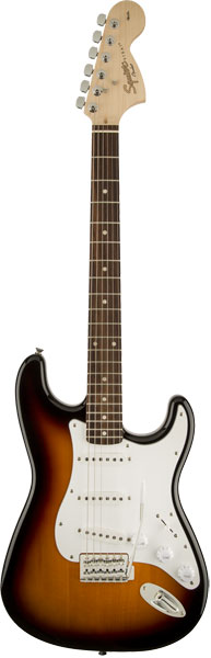 Squier by Fender 《スクワイヤーbyフェンダー》 Affinity Series Stratocaster (Brown Sunburst/Laurel Fingerboard)【本数限定超特価!!】