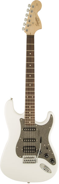 Squier by Fender 《スクワイヤーbyフェンダー》 Affinity Series Stratocaster HSS (Olympic White/Laurel Fingerboard)【g_p5】