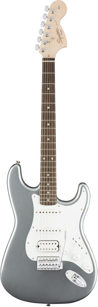 Squier by Fender 《スクワイヤーbyフェンダー》 Affinity Series Stratocaster HSS (Slick Silver/Laurel Fingerboard)【g_p5】