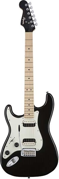 Squier by Fender 《スクワイヤーbyフェンダー》 Contemporary Stratocaster HH Left-Handed (Black Metallic/Maple Fingerboard) 【本数限定特価】