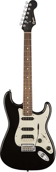 Squier by Fender 《スクワイヤーbyフェンダー》 Contemporary Stratocaster HSS (Black Metallic/Rosewood Fingerboard) 【本数限定特価】