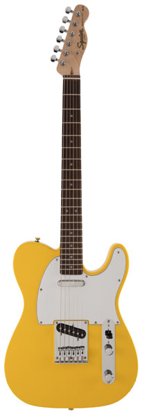 Squier by Fender 《スクワイヤーbyフェンダー》 FSR Affinity Series Telecaster (Graffiti Yellow/Laurel Fingerboard)【g_p5】