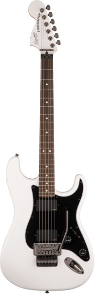 Squier by Fender 《スクワイヤーbyフェンダー》 Contemporary Active Stratocaster HH (Olympic White/Laurel Fingerboard) 【本数限定超特価!!】