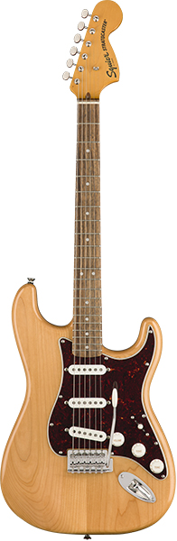 Squier by Fender 《スクワイヤーbyフェンダー》 Classic Vibe '70s Stratocaster (Natural/Laurel Fingerboard)【g_p5】