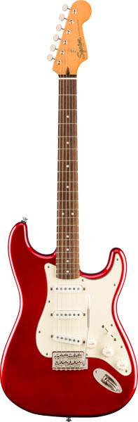 Squier by Fender 《スクワイヤーbyフェンダー》 Classic Vibe '60s Stratocaster (Candy Apple Red/Laurel Fingerboard)【g_p5】