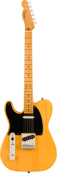 Squier by Fender 《スクワイヤーbyフェンダー》 Classic Vibe '50s Telecaster Left-Handed (Butterscotch Blonde)【g_p5】
