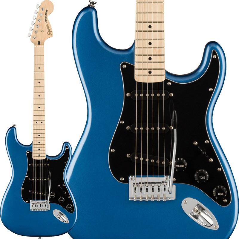 エレキギター ストラトキャスター Squier by Fender 《スクワイヤーbyフェンダー》 Affinity Series Stratocaster (Lake Placid Blue/Maple) エレキギター 【あす楽対応】