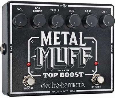 Electro Harmonix 《エレクトロ・ハーモニックス》 Metal Muff