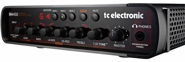 音良し 多機能 軽量 全てが兼ね備わったベーシスト刮目アンプ TC プレゼント RH450 ランキング総合1位 《TCエレクトロニック》 Electronic
