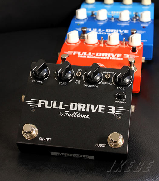 Fulltone FULL-DRIVE3 [Black Case]【新価格】