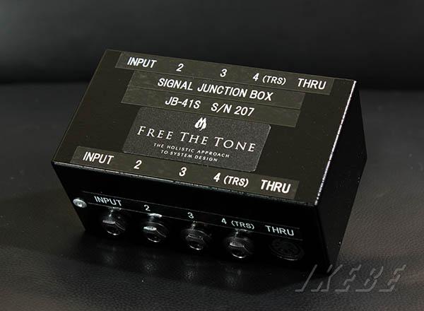 期間限定送料無料 ジャンクション ボックス Free The Tone SIGNAL JUNCTION BOX 人気上昇中 JB-41S