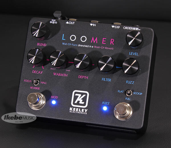 Keeley Electronics 《キーリー》 Loomer LTD Black Neon 【Keeley ベースボールキャッププレゼント!】