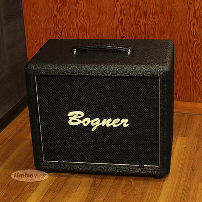 Bogner 《ボグナー》 112 Cube Cabinet, closed back/dual ported, Comet, Black, Silver Piping[16Ω仕様]