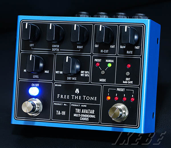 Free The Tone TA-1H [TRI AVATAR Multi-Dimensional Chorus]