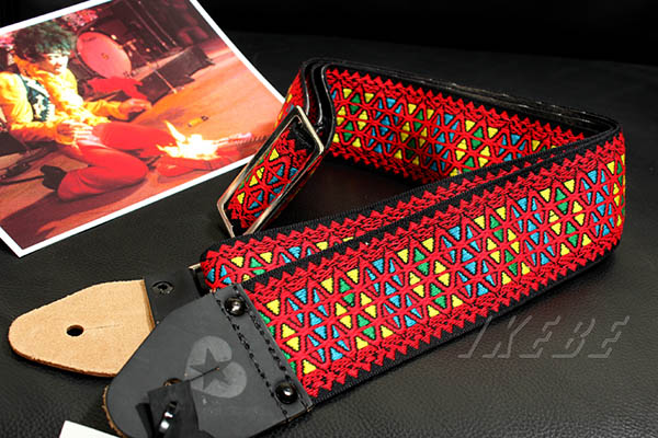 Souldier Strap Ace Replica Straps Monterey Red / Hendrix Fire [VGS1222]