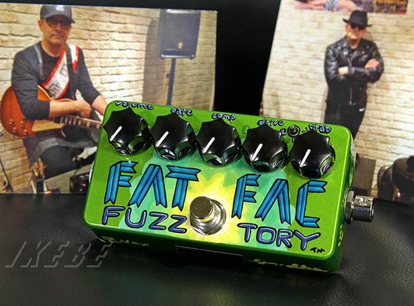 Z.VEX 《ジーベックス》 Fat Fuzz Factory S/N B016 《2013 Z VEX クリニック@イケベ 出展オリジナルペイントモデル》