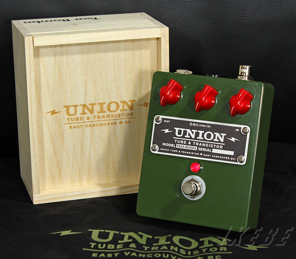 Union Tube & Transistor Tsar Bomba [Muff/Gilmourish Style Fuzz]